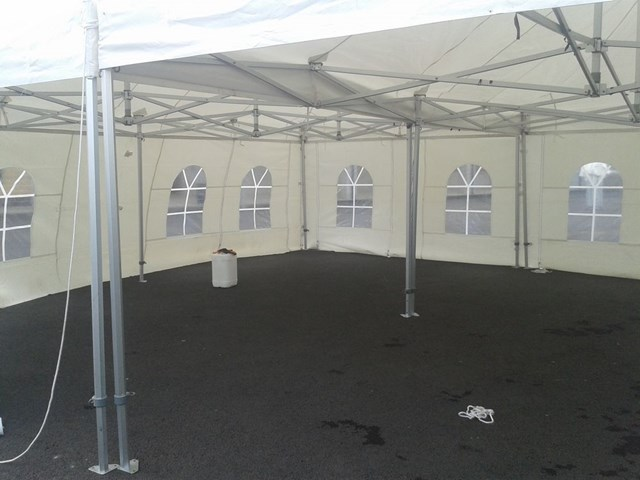 interior of marquees for hire in Armagh