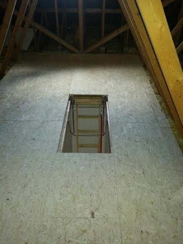 Attic Flooring In Cork Forms A Large Part Of Cork Company Attic Stairs  Solutions.