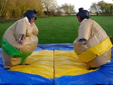 Inflatable's games suitable for adult events and children party occasions.