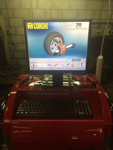 Professional wheel alignment, wheel tracking and wheel balancing in Carrigaline