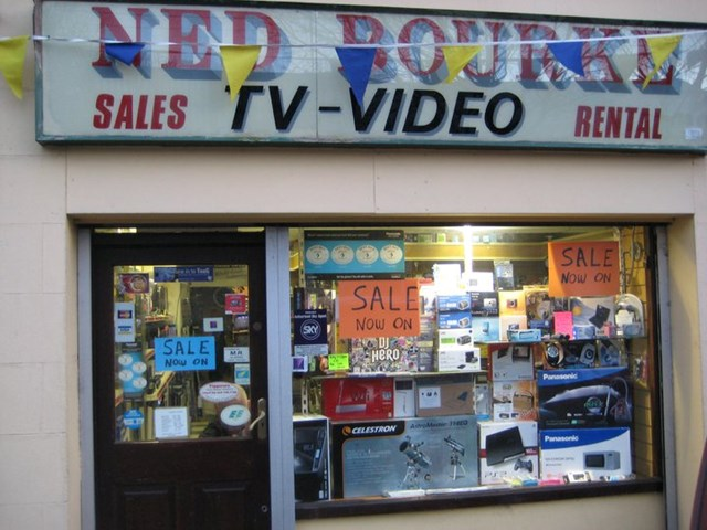 Television store in Tipperary