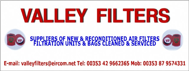 Valley Filters New & Reconditioned Filters