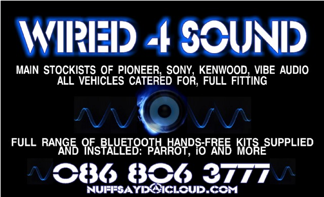 Wired 4 Sound car audio Monaghan