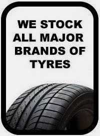 top quality major branded tyres in Cork