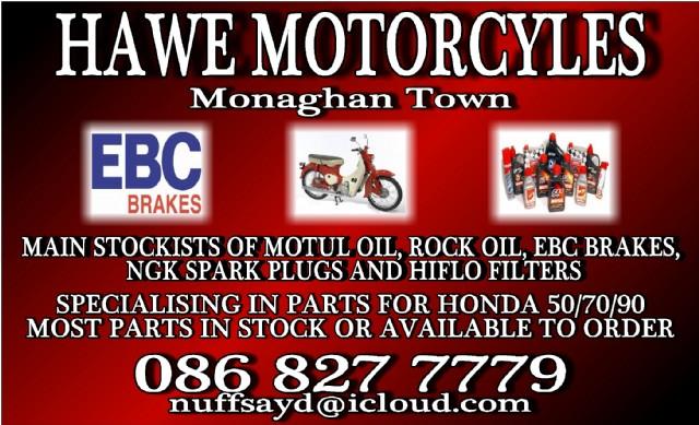 Hawe Motorcycle Parts Monaghan
