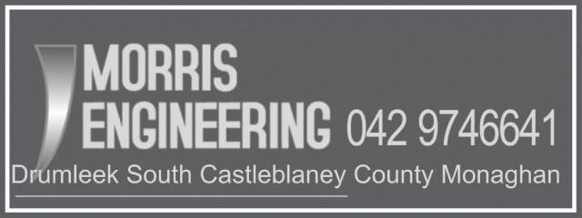 Morris Engineering Casleblaney County Monaghan.