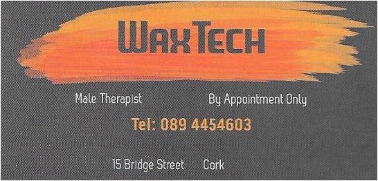 male waxing cork logo