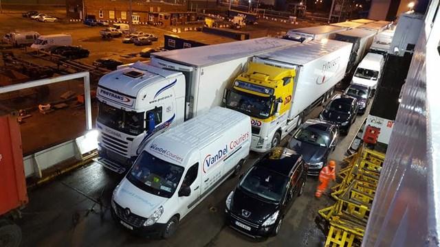 Drogheda goods courier company Vandel Couriers.