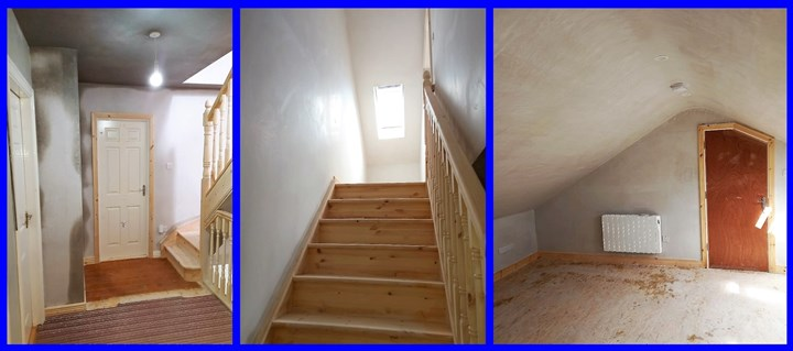 Stairs in attic converte in Limerick