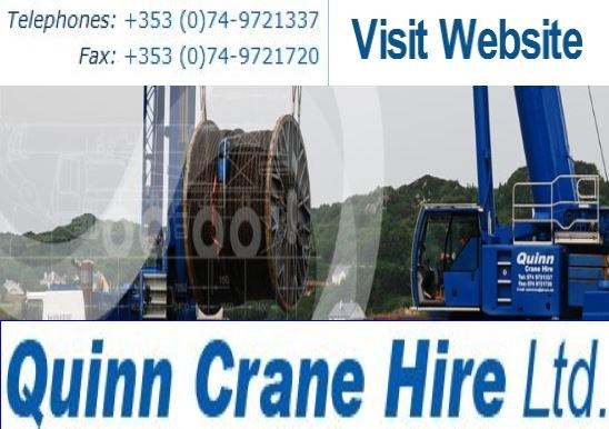 Crane hire in Donegal and North East of ireland.