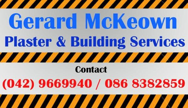 McKeown Plaster & Building Services.