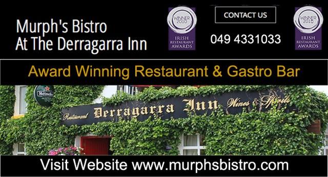 Award winning Restaurant and Gastro Bar County Cavan.
