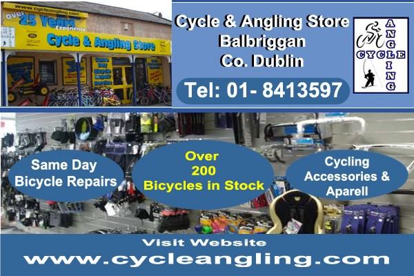 The Cycling and Angling store Balbriggan