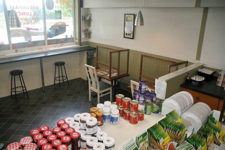 café in Shercock, inside dining