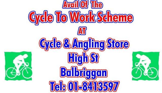 Balbriggan Bike shop participates in Cyclescheme.ie.