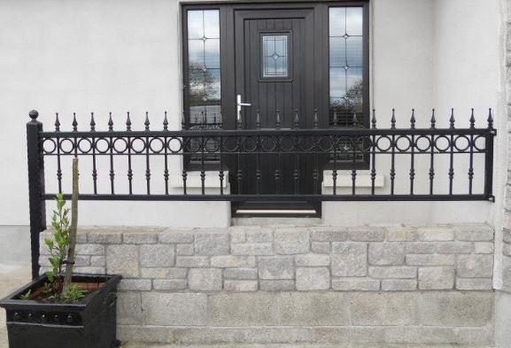 railings in Enniscorthy