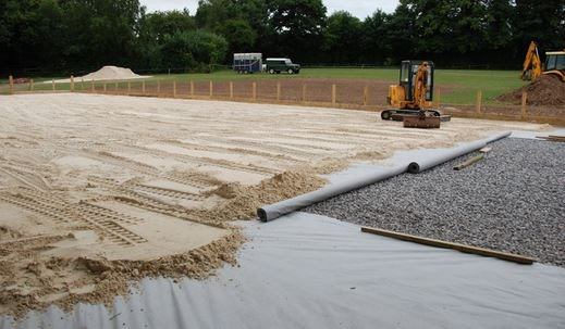 Professional All Weather horse arena construction service Wexford, Ireland