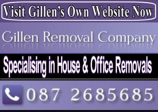 Gillenhome  removals in Malahide, Blackrock and Lucan