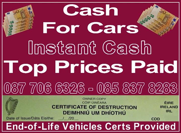 Cash For Cars Dún Laoghaire logo