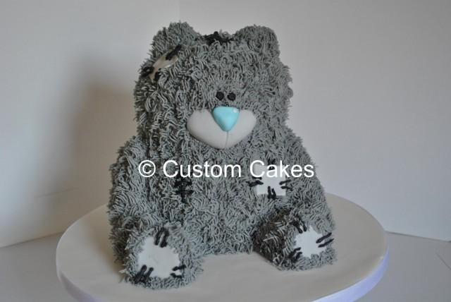 3D Tatty Teddy Bear