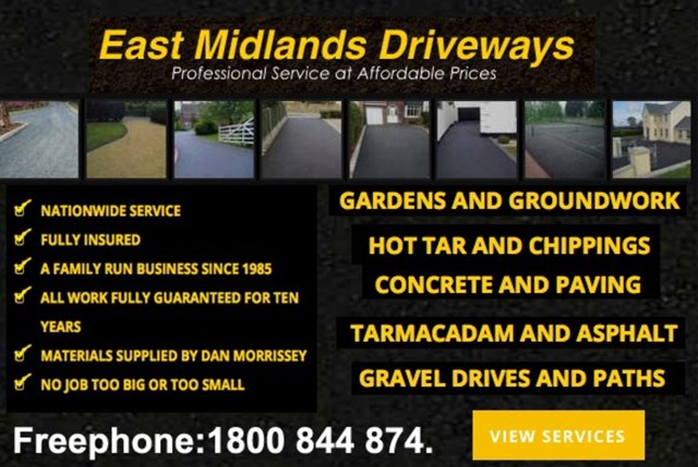 Drivecraft Driveways County Carlow