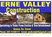 Timber House Construction Cavan, Monaghan. Erne Valley Construction Ltd