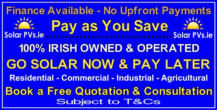 Finance for Solar panels in Kerry