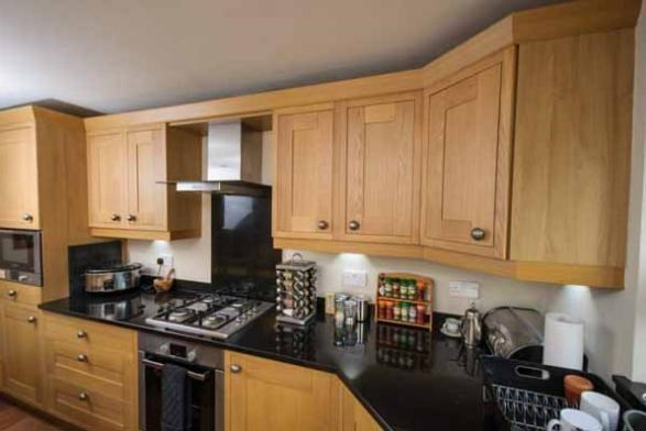 Fitted Kitchens Are A Speciality Of Inishowen Carpenters Millbrook Joinery.