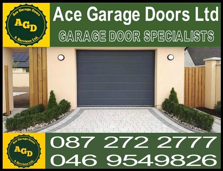 Garage door North County Dublin Logo