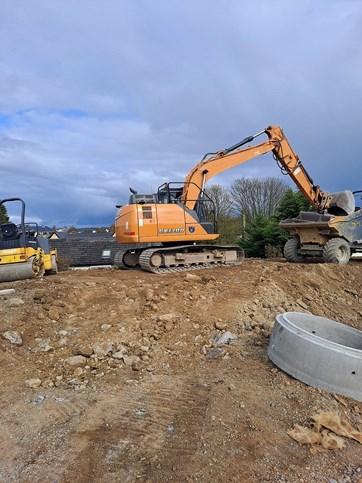 Groundworks Wexford, Hymac