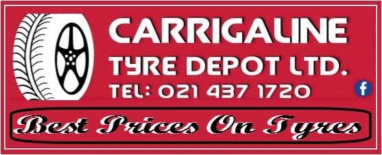 Carrigaline Tyre Depot County Cork.