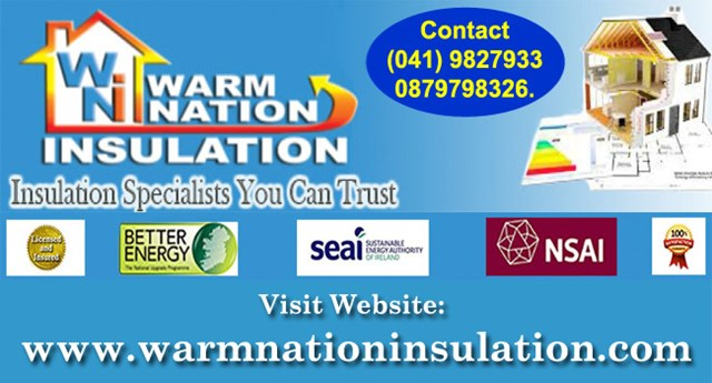 Warm Nation Insulation County dublin and County Louth.