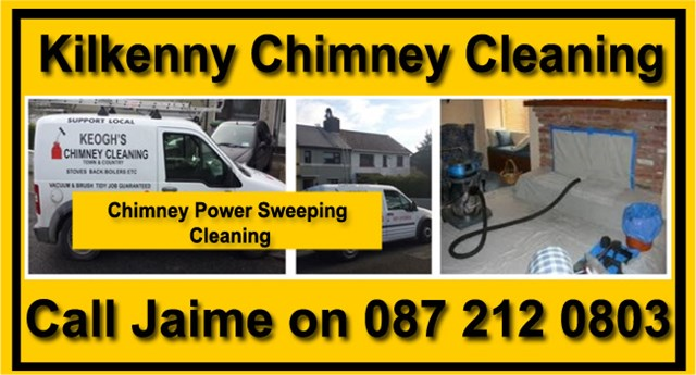 Power sweeping chinmey cleaning Kilkenny