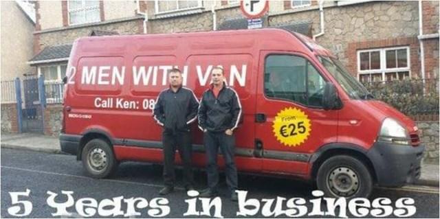 Man With A Van >> 2 Men With Van