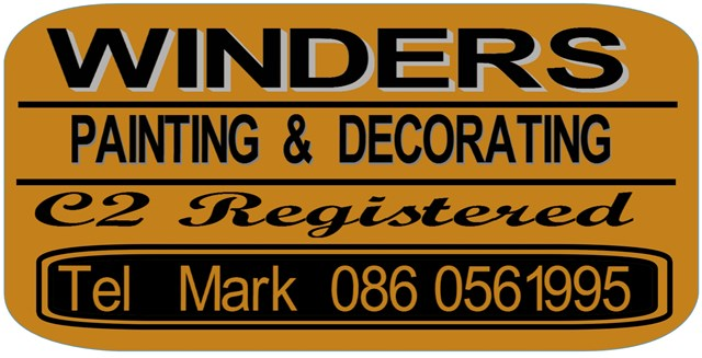 winders painting and decorating clare logo