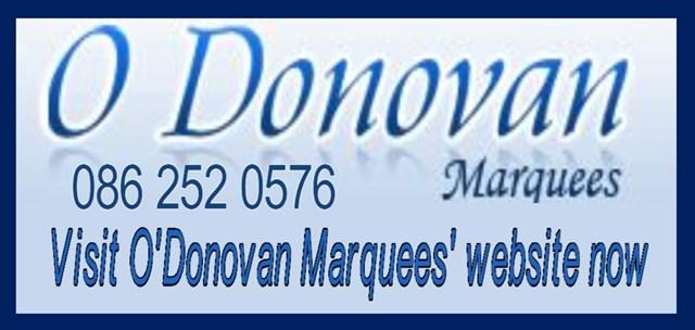 O'Donovan Marquees South Dublin logo