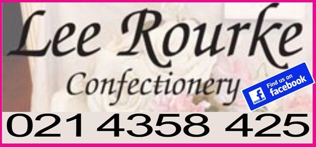 Lee Rourke Cakes Cork Logo