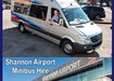 Shannon Airport Minibus Hire