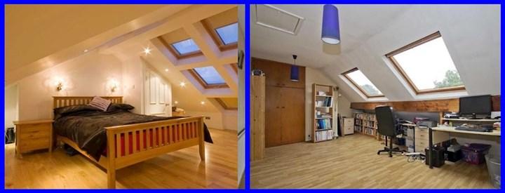 Converting attics to office