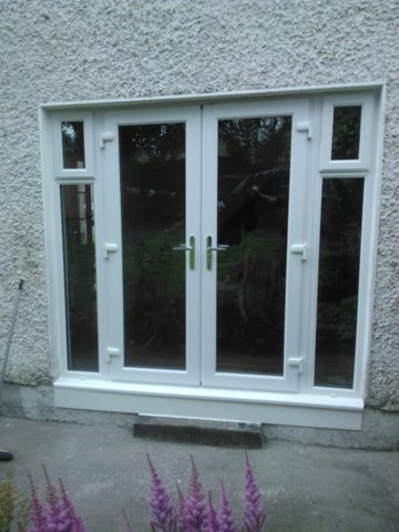 Image of uPVC window in Tallaght installed by Morris Windows & Doors, uPVC windows in Tallaght are supplied and installed by Morris Windows & Doors