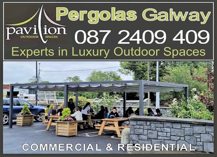 Pergolas Galway, logo