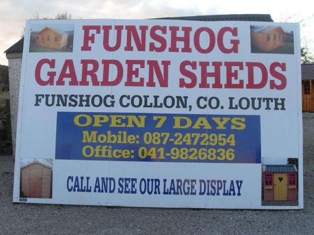 FUNSHOG GARDEN SHEDS
