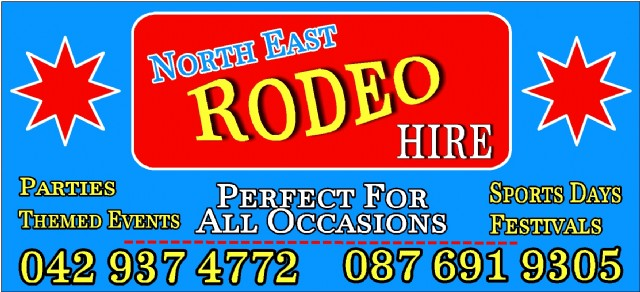 North East Rodeo Hire Header