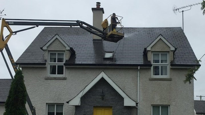Power Washing Galway Roof cleaning