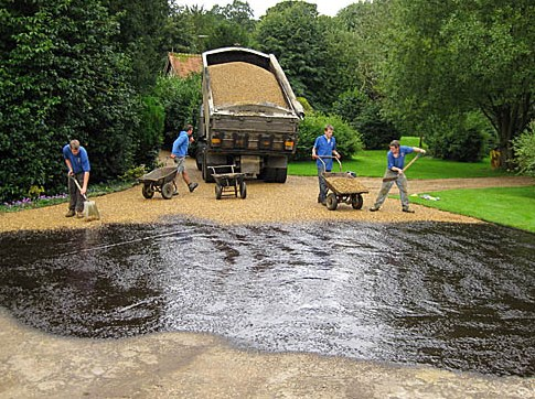 Hot Tar and Chips driveways County carlow