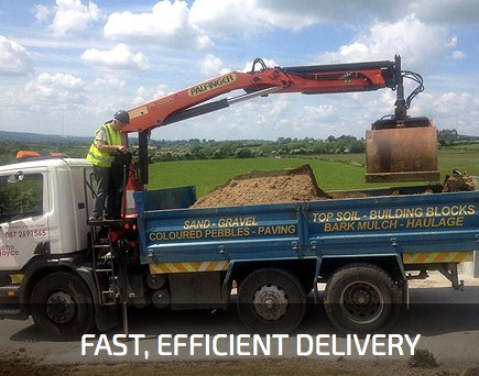 quality sand & gravel supplier County carlow