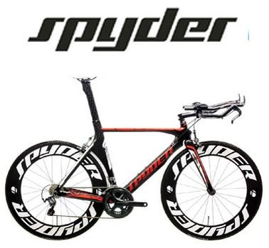 Spyder bicycle in The Balbriggan Bicycle store.