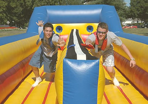 Fully insured inflatable obstacle course supplier in East Cork