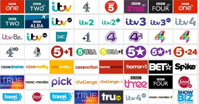 Saorview and Free to air TV channels in Enfield and Edenderry.