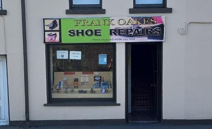 Shoe repair shop in Mullingar